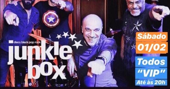 Show da banda Junkie Box no Republic Pub em Fevereiro