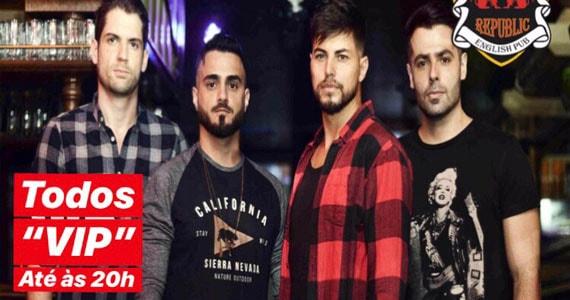 Banda Relive retorna ao Republic Pub em Setembro com o melhor do Pop Rock
