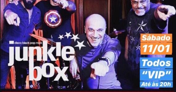 Show da Banda Junkie Box no Republic Pub em Janeiro
