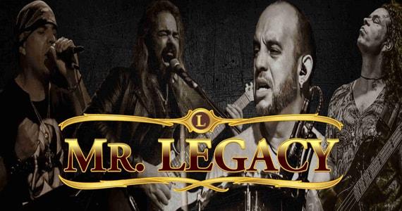 Republic Pub celebra o Dia Internacional do Rock com show da Banda Mr.Legacy ao lado de DJ Maia