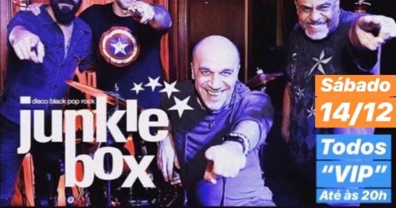 Banda Junkie Box e DJ Bisnaguinha prometem agitar o Republic Pub