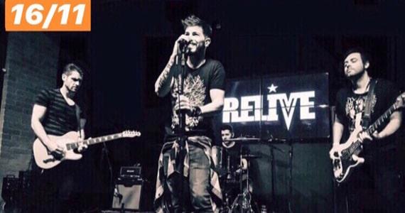 Banda Relive se apresenta novamente no Republic Pub