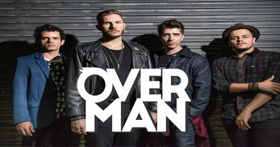 Banda Overman e Dj Maia prometem agitar a noite no Republic Pub