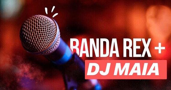 Banda Rex anima noite com DJ Maia no Republic Pub