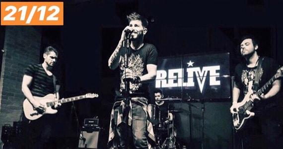 Show da banda Relive no Republic Pub em Dezembro