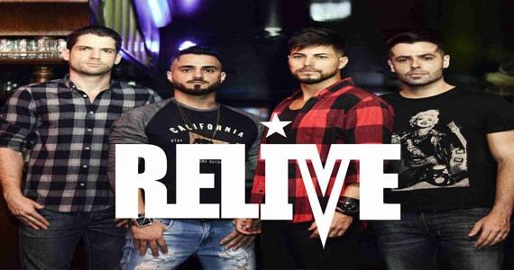 Show da banda Relive ao lado do DJ Bisnaguinha no Republic Pub