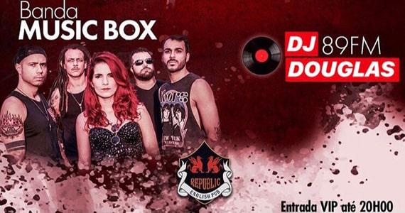 Banda Music Box volta a sacudir o Republic Pub em Janeiro