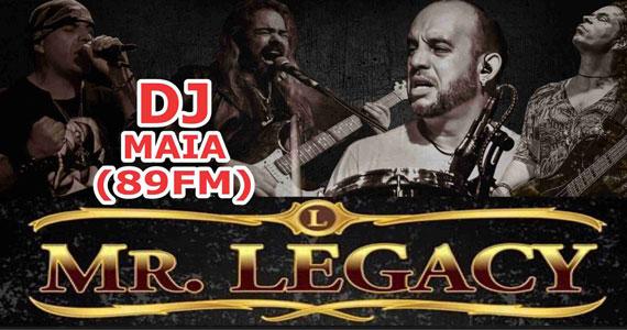 Banda Mr. Legacy promete bombar a noite no Republic Pub ao lado do DJ Maia