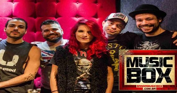 Noite de Pop Rock com show da Banda Music Box e DJ Bisnaguinha