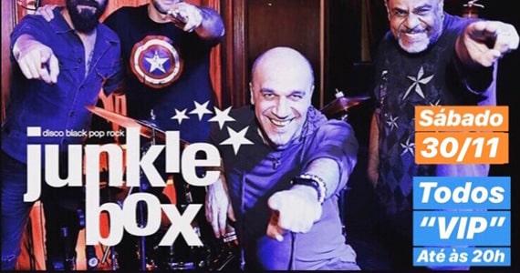 Show da banda Junkie Box no Republic Pub em Novembro