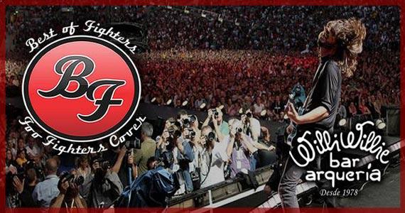 Banda Best Of Fighters comandam a noite com pop rock no Willi Willie Bar e Arqueria