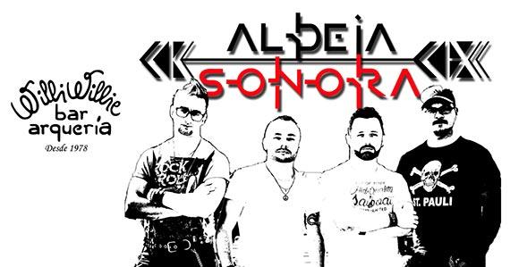 Banda Aldeia Sonora agita Willi Willie com o melhor do rock