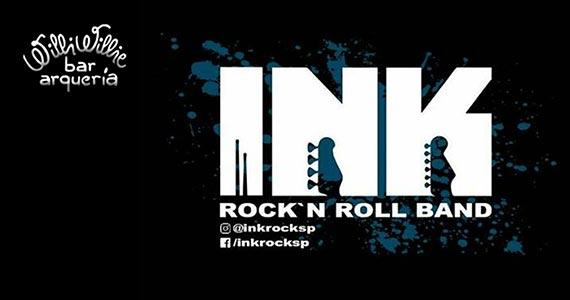 Willi Willie recebe noite de rock and roll com a Banda INK Rock