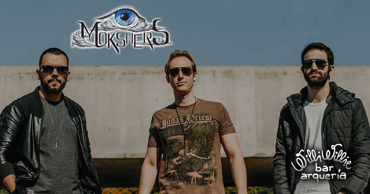 Banda Mokshers comanda a noite com classic rock no Willi Willie Bar e Arqueria