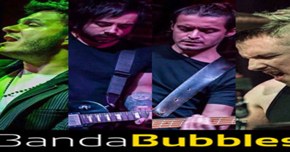 Banda Bubbles e DJ Bisnaguinha voltam a agitar a noite do Republic Pub com o melhor do Pop Rock