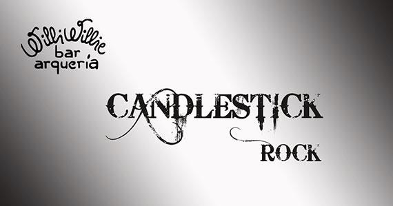 Banda Candlestick traz o melhor do rock ao Willi Willie