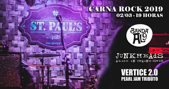 CarnaRock 2019 com a banda JuNkHeAdS no St Paul's Pub