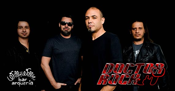 Banda Doctor Rock agita noite no Willi Willie