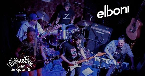 Banda Elboni se apresenta no Willi Willie com o melhor do indie pop