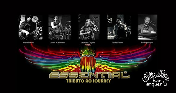 Banda Essential realiza tributo ao Journey no Willi Willie