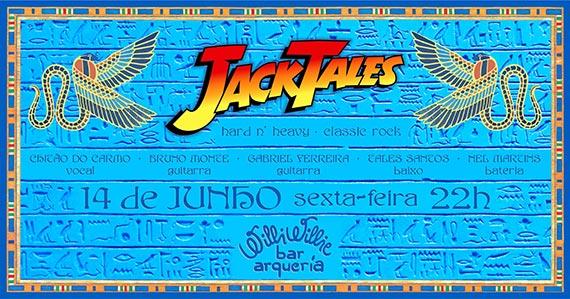 Jack Tales Band com classic rock animando a noite do Willi Willie