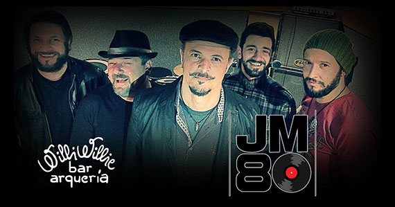 Banda JM80 realiza show no Willi Willie