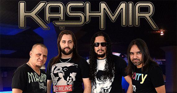 Apresentação da banda Kashmir agita à noite no Stones Music Bar