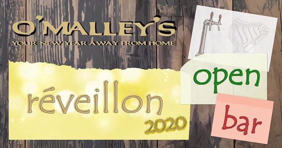 Réveillon Open Bar do O'Malley's reúne atrações imperdíveis