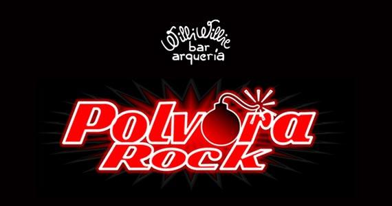 Noite de clássicos do pop rock com a banda Polvora Rock no Willi Willie Bar