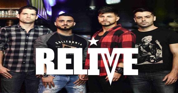 Banda Relive retorna aos palcos do Republic Pub acompanhada de DJ Bisnaguinha