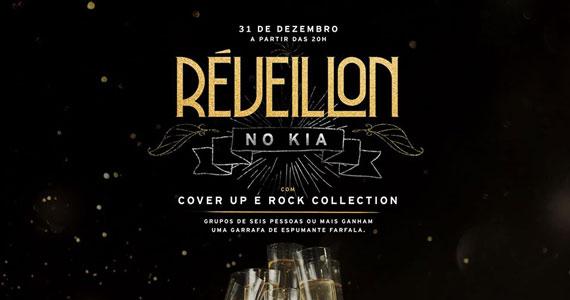 Réveillon Kia Ora convida Cover UP e Rock Collection