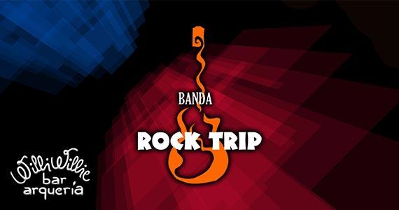Apresentação da banda Rock Trip no palco do Willi Willie