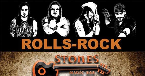 St. Patrick Week é embalada pela banda Rolls Rock no palco do Stones