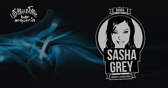 Banda Sasha Grey apresenta o melhor do classic rock