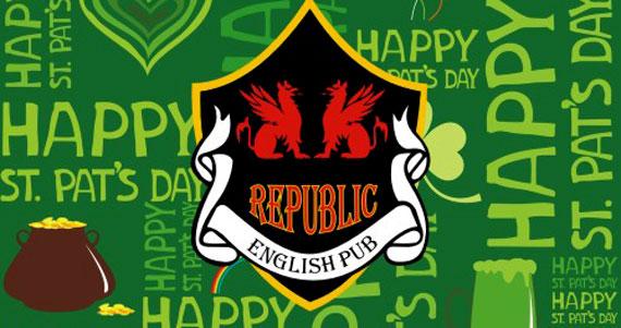Republic Pub convida Banda Rock Boxx para a St. Patrick's Week