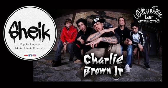 Banda Sheik Popular realiza tributo a Charlie Brown Jr.