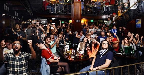 The Blue Pub tem rock and roll e transmissão da final dos campeonatos paulista e carioca