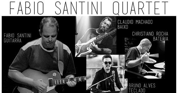 Fabio Santini Quartet animam a quinta do Willi Willie Bar e Arqueria