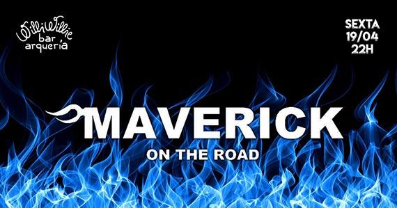 Banda Mavericks agita a noite com clássicos do rock no Willi Willie Bar e Arqueria