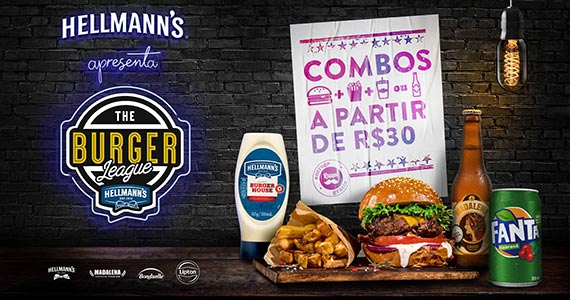 The Burger League Especiais BaresSP