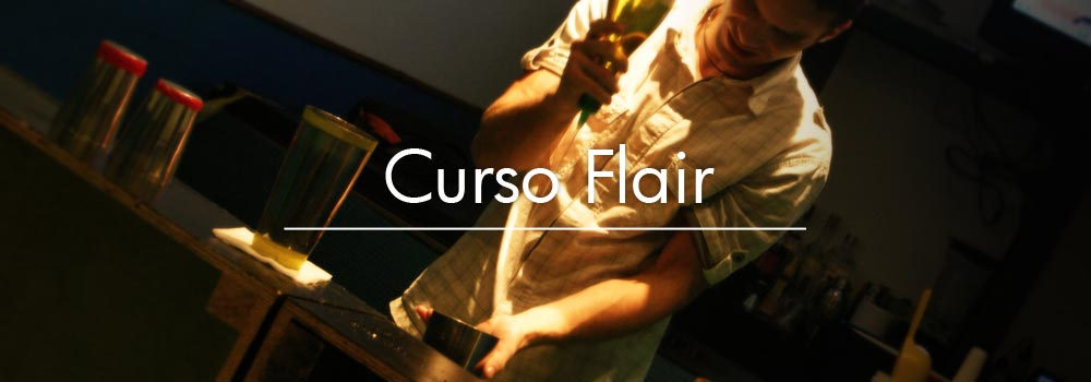 Curso Bartender Flair