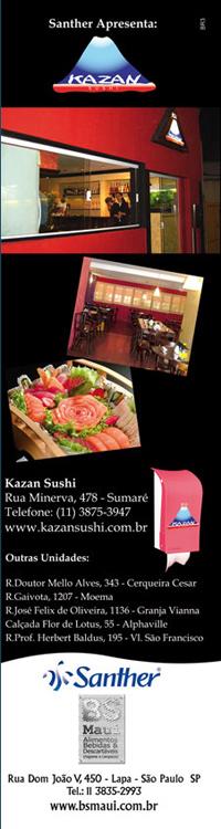 Anúncio Kazan Sushi