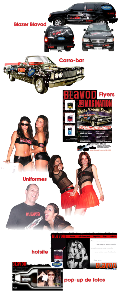 Ação Promocional Blavod 2003