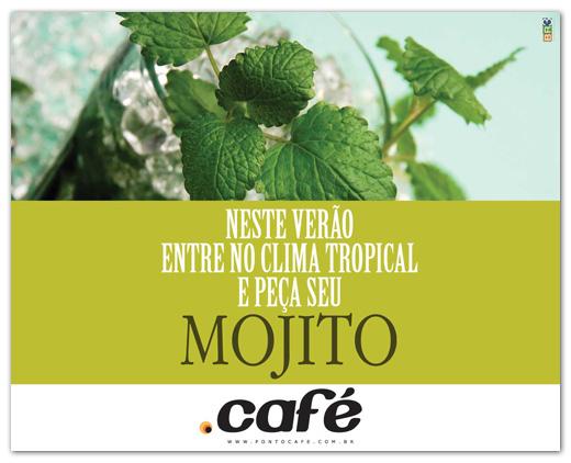 Flyers de divulgação Ponto Café Br3 Site sites cases image