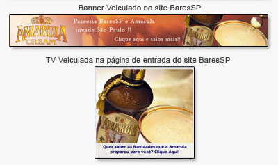 Identidade Visual para a Ação de Verão Amarula Br3 Site sites cases image