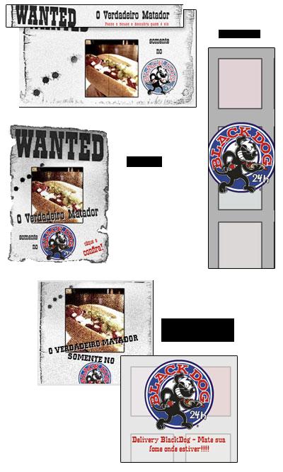 Identidade Visual para as promoções do Black Dog Br3 Site sites cases image