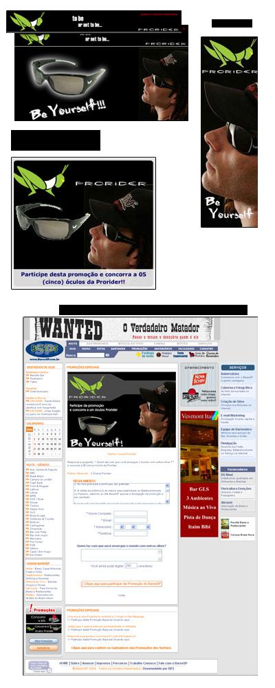Identidade Visual para as promoções da Prorider Br3 Site sites cases image
