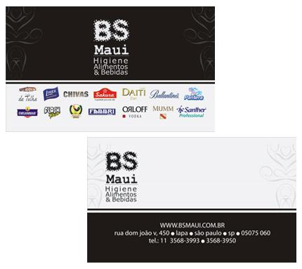 Impresso Cartão Bs Maui