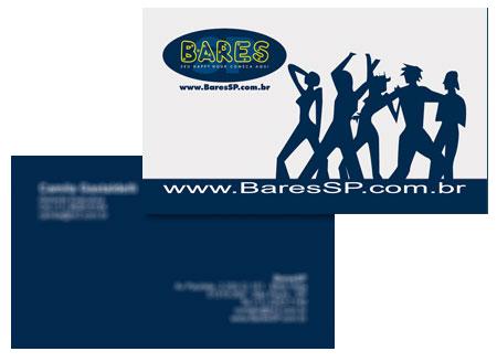 Cartão de Visita BaresSP