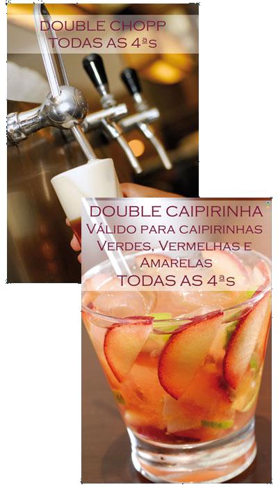 Flyer Impresso Maré Alta - Caipirinha e Chopp